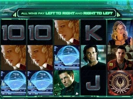 Выигрышная комбинация в автомате Battlestar Galactica