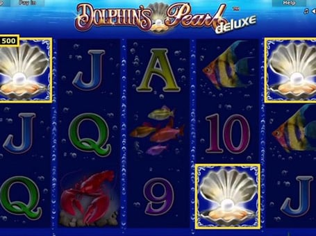 dolphins pearl deluxe игровой автомат