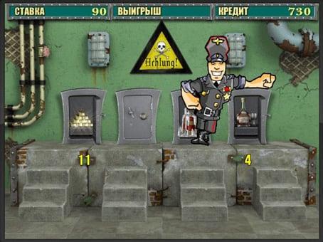 Бонус игра в автомате Resident