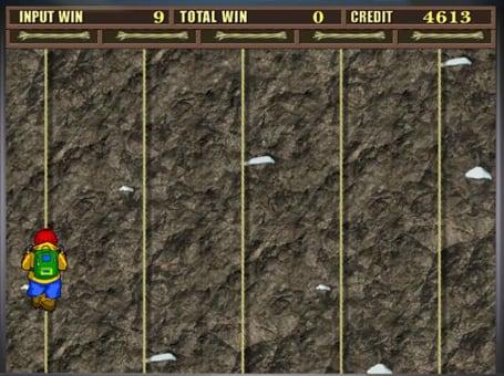 Бонусная игра автомата Rock Climber
